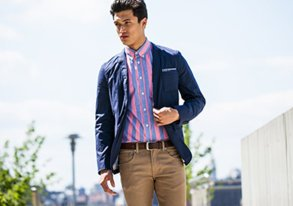 Shop Stock Up: Summer Blazers & Wovens
