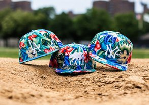 Shop LIMITED EDITION: Printed MLB Hats