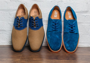Shop New Dress Shoes ft. Colorblocking
