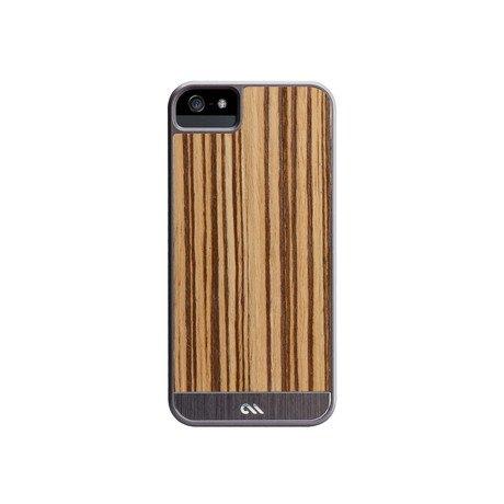 iPhone 5 // Zebrawood