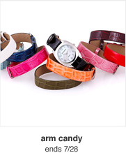 arm candy ends 7/28