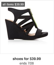 shoes for 39.99 ends 7/28