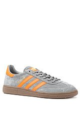 The Spezial Sneaker in St Crag, Orange, & Metallic Gold