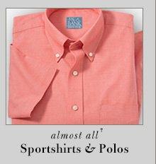 65% OFF* - Sportshirts & Polos
