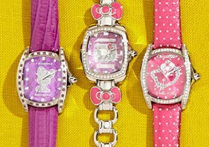 Hello Kitty: Bags, Watches & More