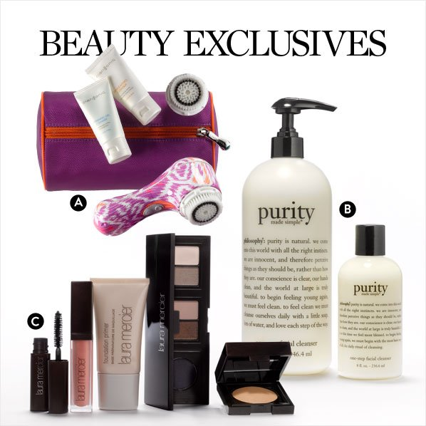 BEAUTY EXCLUSIVES