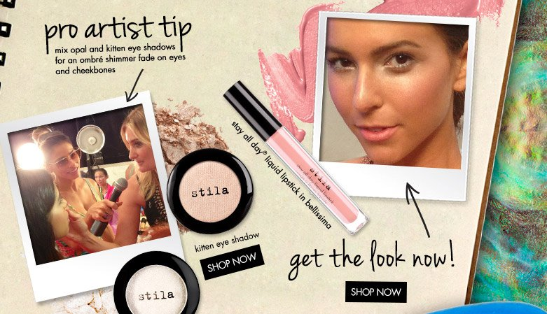 get the look + pro artist tip!