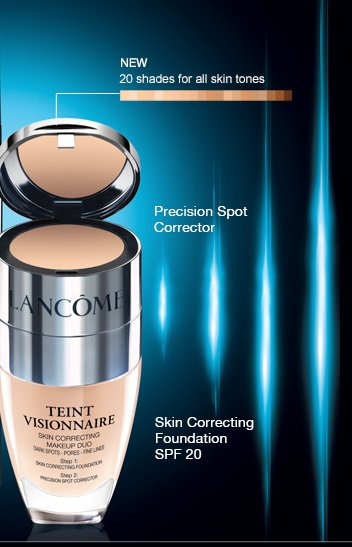 NEW 20 shades for all skin tones | Precision Spot Corrector | Skin Correcting Foundation SPF 20