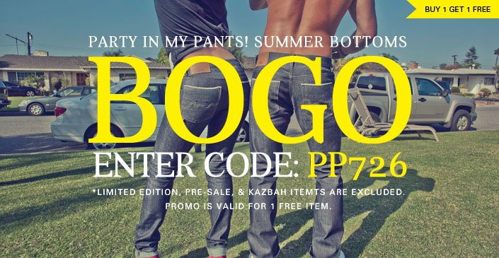 Summer Bottoms: Buy 1, Get 1 Free