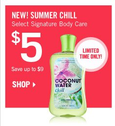 Select Signature Body Care – $5