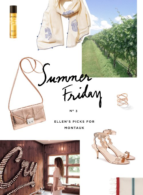 Escape to the LR Blog to read about Ellen's Summer Friday in Montauk.