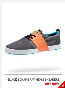 EL ACE 3 CHAMBRAY MEN'S SNEAKERS BUY NOW