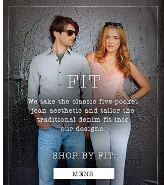 Shop by Fit - Mens