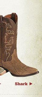 Shark Skin Boots