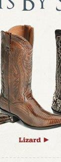 Lizard Skin Boots
