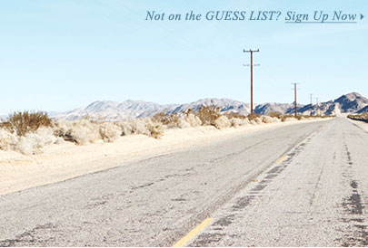 Sign Up For Guess List