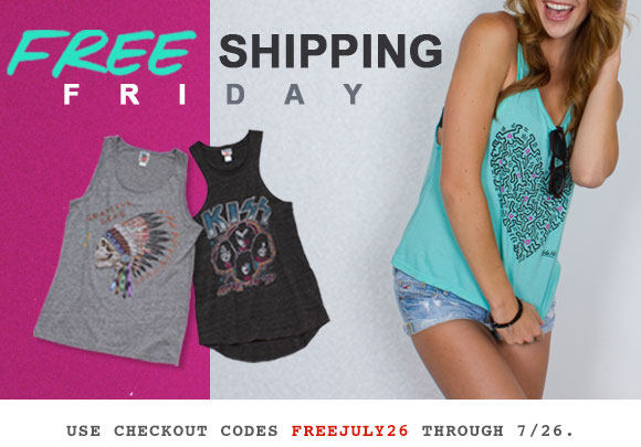 Free Shipping Friday!