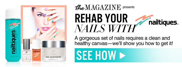 Rehab Your Nails with Nailtiques A gorgeous set of nails requires a clean and healthy canvas—we'll show you how to get it! See How>>