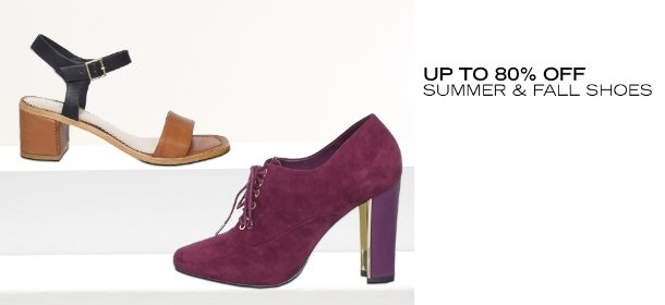 UP TO 80% OFF: SUMMER & FALL SHOES, Event Ends July 30, 9:00 AM PT >