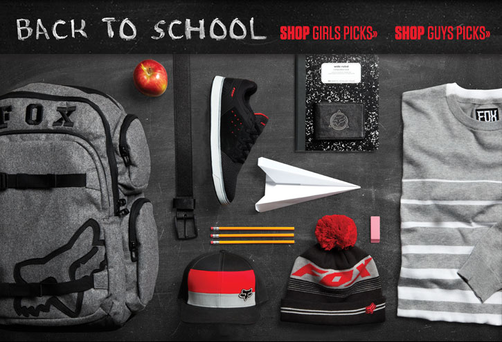 Back To School PIcks - Guys