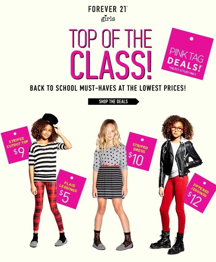 Forever 21 Girls Back to School! - Shop Now