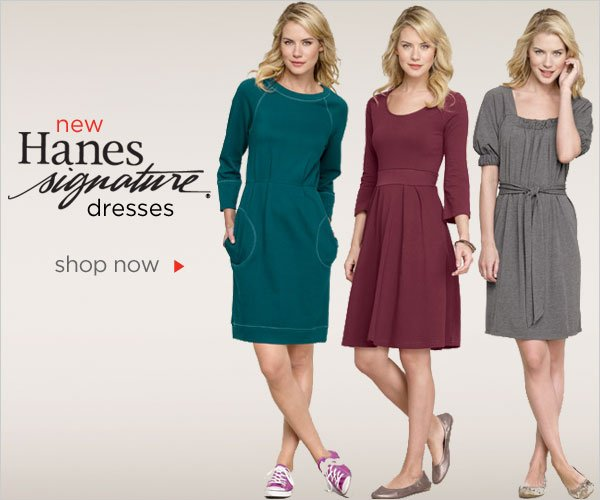 Hanes Signature Dresses New Arrivals