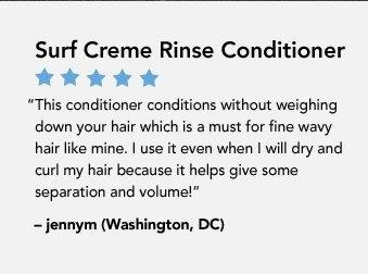 Surf Creme Rinse Conditioner