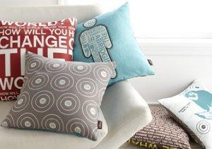 Futon Fix-Up: Casual Pillows