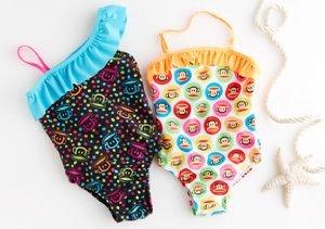Paul Frank: Girls' Swimwear