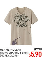 MEN METAL GEAR T-SHIRT