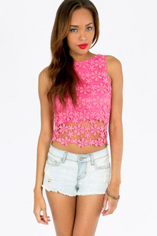 HAVE A DAISY DAY CROP TOP 33