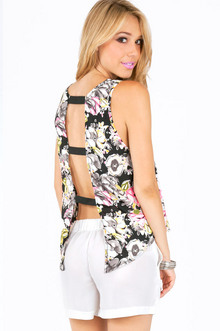 OPEN BACK TANK TOP 25