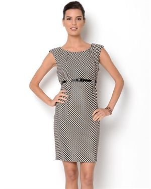 Shelby & Palmer Polka Dot Printed Dress