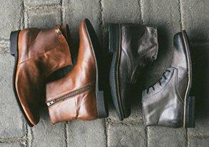 Shop Rugged & Refined Footwear