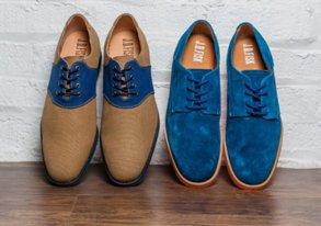 Shop New Dress Shoes ft. Colorblocking