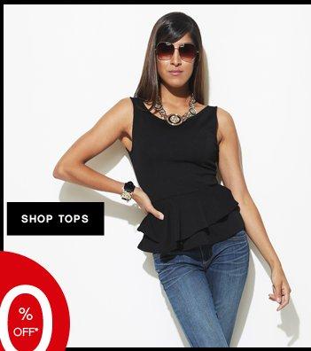 Shop 40% OFF Tops
