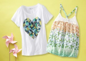 Up to 80% Off: Tops for Girls