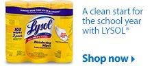 Lysol wipes learn more