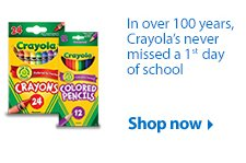 Crayola shop now