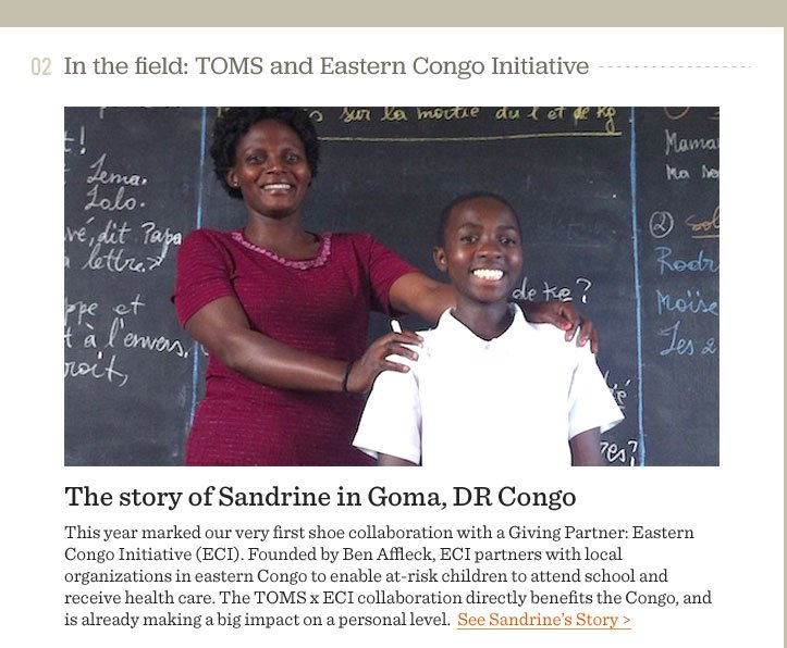 The story of Sandrine in Goma, DR Congo