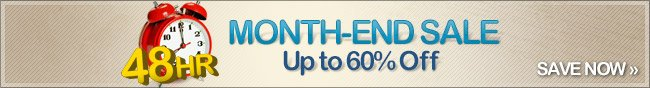 48HR MONTH-END SALE Up to 65% Off. SAVE NOW.