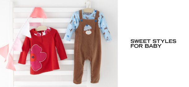 SWEET STYLES FOR BABY, Event Ends July 31, 9:00 AM PT >