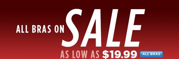 SHOP Bra Sale!