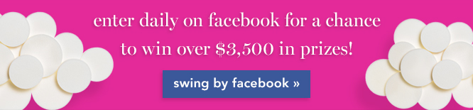 enter daily on facebook for a chance to win over $3,500 in prizes.