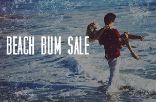 Beach Bum Sale