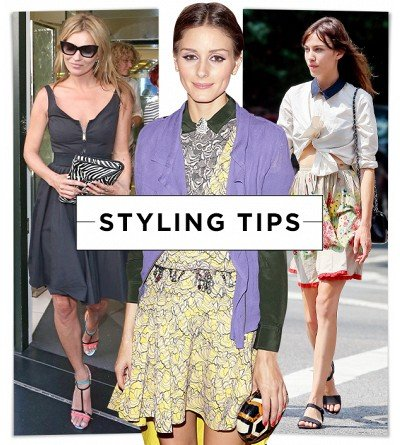 Cute Outfit Ideas From Olivia Palermo, Kate Moss & More