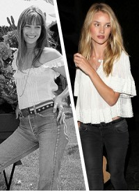 Style Retrospective: See The Peasant Blouse Over The Years