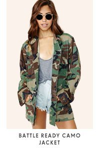 Battle Ready Camo Jacket