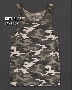 GUYS RUDE TANK TOP