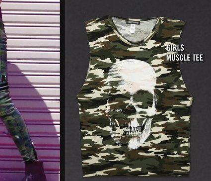 GIRLS MUSCLE TEE